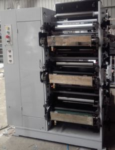Flexo Printing Machine for Sticker Roll to Roll pictures & photos