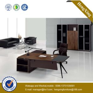 1.8m Melamine Lamianted Wooden L Shape Executive Office Table (HX-NT150) pictures & photos
