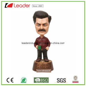 Polyresin Bobblehead Decor Sportsman Bobble Head for Home Decoration pictures & photos