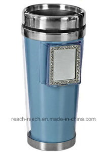 450ml Coffee Travel Mug with Mirror (R-2004) pictures & photos