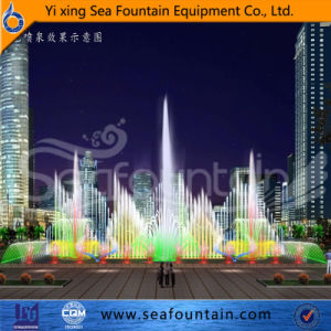 Professional Sculpture Music Fountain Water Jet Fountain pictures & photos