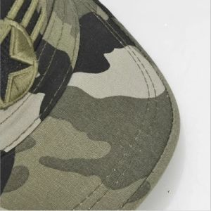 Camou Military Hat with Flat Embroidery pictures & photos