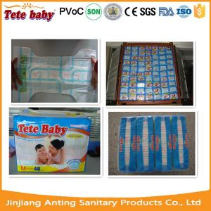 Non Woven Fabric Babies Diaper, Babies for The Newborn Diaper Age Group The Newborn Diaper pictures & photos