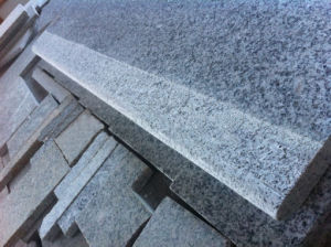 Bethel White Granite, Granite Stairs, Granite Steps and Granite Treads pictures & photos