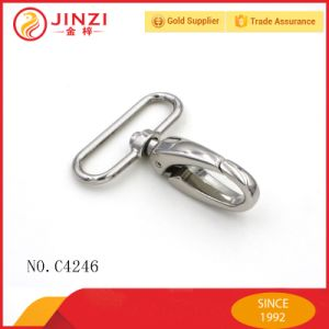 New Style Hardware Large Sliver Oval Ring Swivel Snap Hook pictures & photos