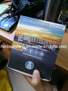 Elements Slim King Size Cigarettesmoking Rolling Paper 50 Booklets Ultra Thin Rice pictures & photos