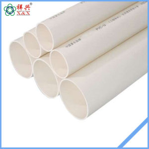 Drainage System U-PVC Water Tube pictures & photos