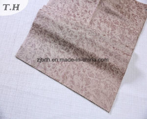 Suede Hot Stamping and Print Fabric for Sofa and Chair pictures & photos