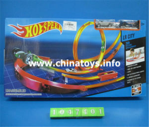 Promotion Gift Plastic Toy Track Car with Parking Lot (1047101) pictures & photos