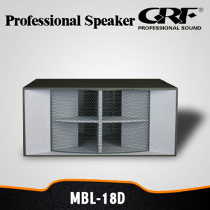 Grf PRO Audio Dance Stack Professional Speaker (MBL-18D) pictures & photos