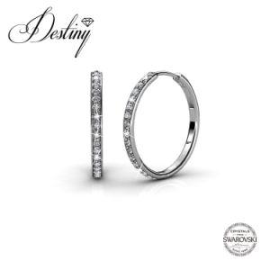 Destiny Jewellery Crystal From Swarovski Chic Earrings