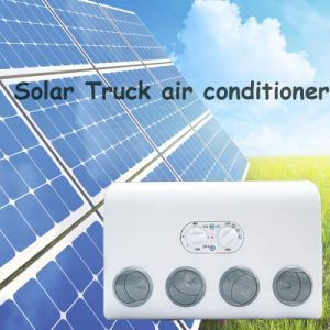24V Solar Powered Mini Portable Vehicle Air Conditioner for Cars pictures & photos