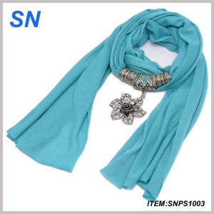Hot Fashion Jesery Jewelry Scarves (SNPS1003) pictures & photos
