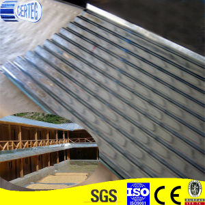 Galvanized and Galvalume Ibr Roof Sheeting