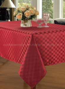 Jacquard Table Cloth pictures & photos