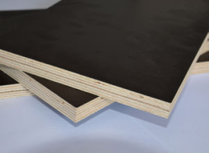 AAA Grade 18mm Formply Shuttering Brown Film Faced Plywood pictures & photos