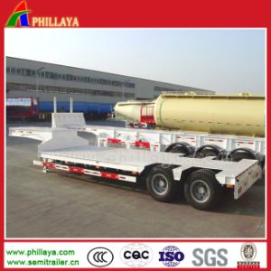 30 Tons Lowbed Double Axle Low Bed Semi Trailer pictures & photos