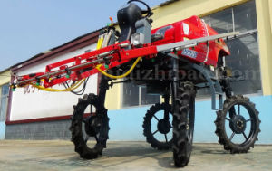 Aidi Brand 4WD Hst Self-Propelled Power Boom Sprayer for Dry Land