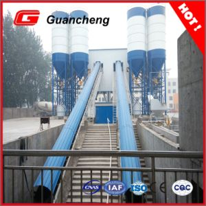 Belt Conveyor Type Germany Design Hls 60 Concrete Batching Station in China pictures & photos