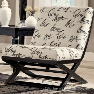 Printed Linen Faux Polyester Fabric for Furnitures pictures & photos