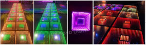 Portable LED Dancing Stage Mirror Dance Floor pictures & photos
