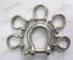 Stainless Steel SS301 or SS304 Pin Shackle pictures & photos