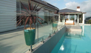 8mm, 10mm, 12mm Tempered Glass, Toughened Glass for Swimming Pool pictures & photos