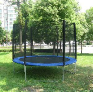 Mini Trampoline with Safety Enclosure for Kids (XA1065)