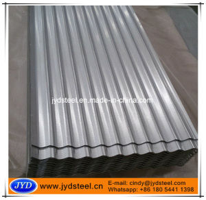 Az80g Corrugated Residential Roof Tile of Galvalume Surface pictures & photos