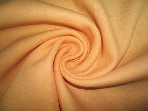 Double Velvet Check Woolen Fabric pictures & photos