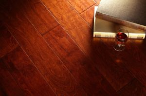 Distressed Maple Engineered Multi-Layer Flooring