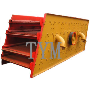 China Factory Cement Vibrating Screen Linear Vibration Sieve Machine pictures & photos