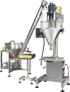 Semiautomatic Powder Filling Machine / Filling Equipment pictures & photos
