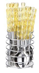 16PCS Plastic Handle Cutlery Set pictures & photos