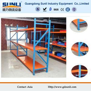 Steel Panel Medium Duty Storage Shelf Rack pictures & photos