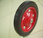 Solid Rubber Powder Wheel 3.50-8 pictures & photos
