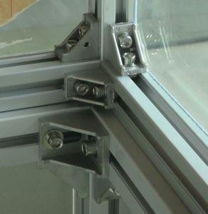 Aluminum Color Powder Coated Used for Aluminum Profile T Slot Aluminum Corner Bracket pictures & photos