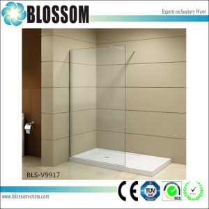 Simple Glass Shower Screen Cheap Frameless Shower Wall pictures & photos
