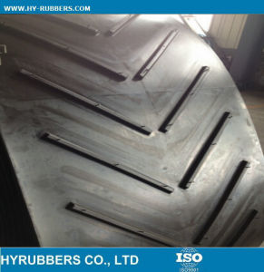 Heat Resistant Rubber Chevron Conveyor Belt with Cheap Price pictures & photos