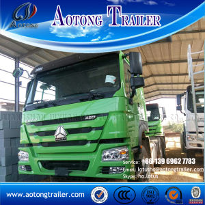 6X4 371HP Sinotruk HOWO A7 Trailer Truck with Air Conditioner Hot Selling in Africa pictures & photos
