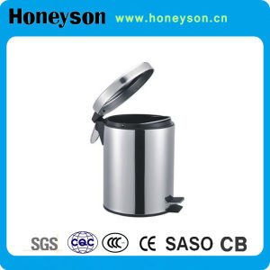 Quality Stainless Steel 5L Wastebin for Hotel Use pictures & photos