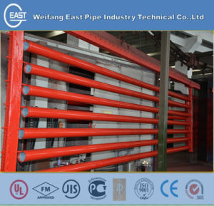 Grooved Steel Pipe with FM UL Epoxy Painting pictures & photos