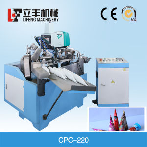 Automatic Ice Cream Cone Machine Paper Cone Sleeve Machine pictures & photos