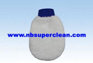 Fluffy Microfiber Coral Fleece Polishing Mitt Wash Mitt (CN1503) pictures & photos