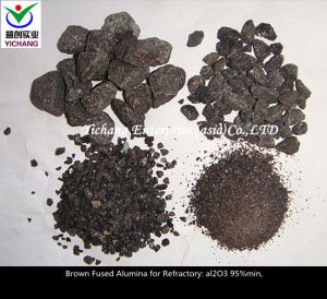 Brown Fused Alumina for Fireproofing Application pictures & photos