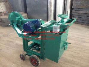 Mobile 3000mm Waste OTR Tire Cutting Machine with Wheel pictures & photos