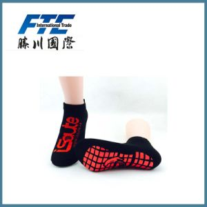 Customized Anti Slip Trampoline Socks Dress Socks pictures & photos