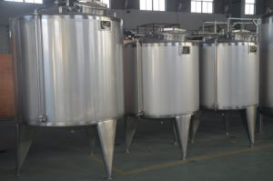 Industrial Food Sanitary Stainless Steel 2000L Steam Yogurt Fermentation Tank pictures & photos