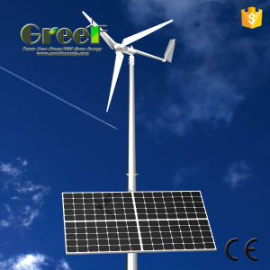 Horizontal and Vertical Wind Solar Hybrid System with Ce pictures & photos
