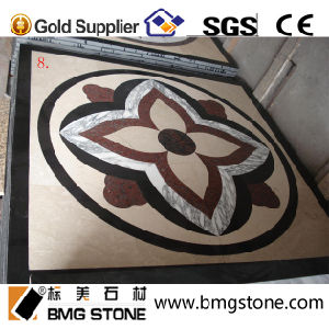 Waterjet Flooring Marble Pattern Stone Medallion